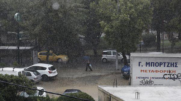 Έρχονται ισχυρές βροχές στην Αττική
