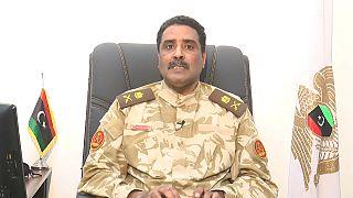 قوات تابعة للمشير خليفة حفتر في بنغازي (شرق ليبيا)