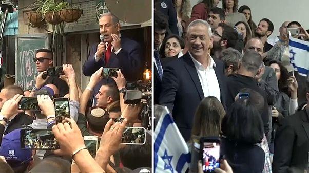 Benjamin Netanyahu et Benny Gantz