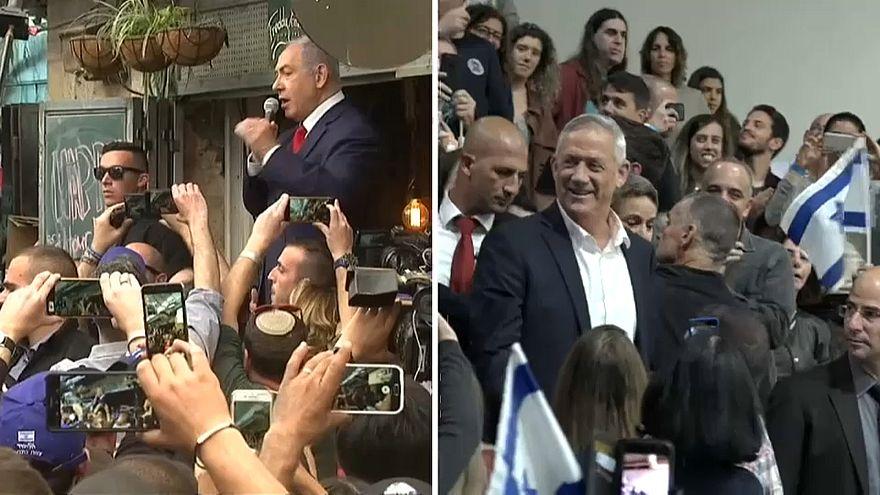 Israel vor Parlamentswahl - Netanjahu gegen Gantz