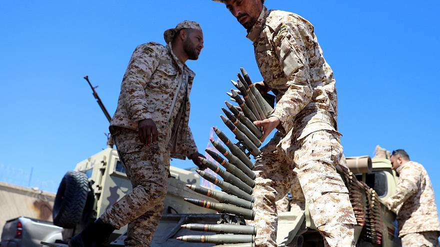 Misrata forces, under the protection of Tripoli's forces, on April 8