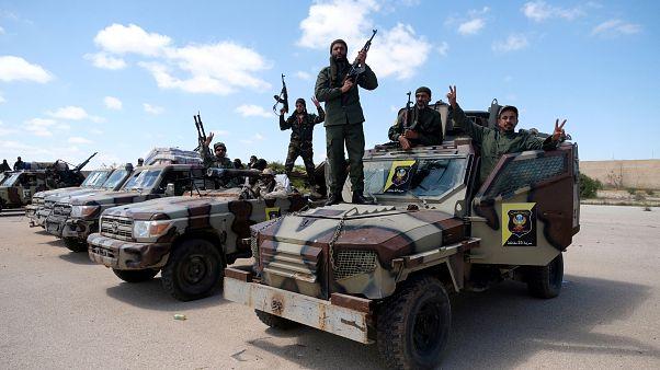 Армия фельдмаршала Халифа Хафтара на пути в Триполи