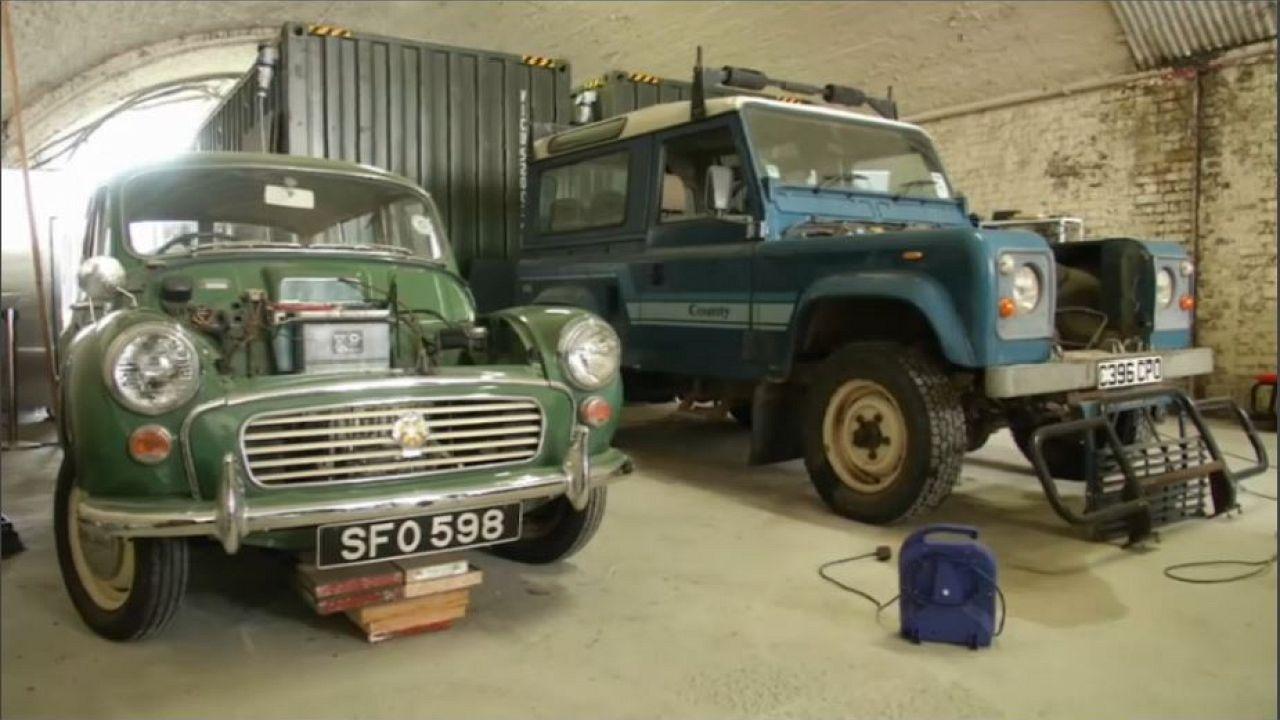 Carros clássicos com motores elétricos