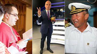 Chris Terhes, Rares Bogdan and Traian Basescu