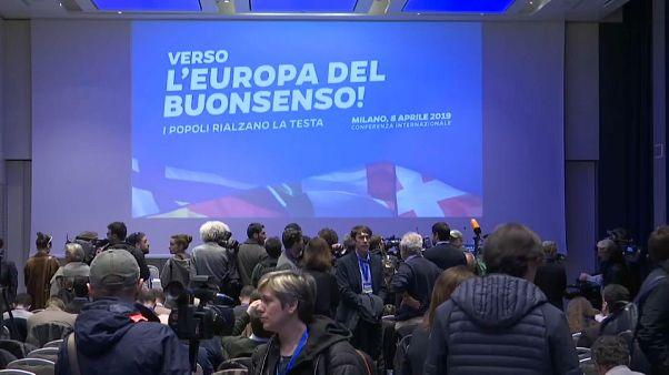 Convention sovranista all'Hotel Gallia di Milano