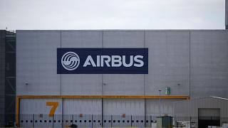 Airbus' wing assembly plant at Broughton, near Chester, UK