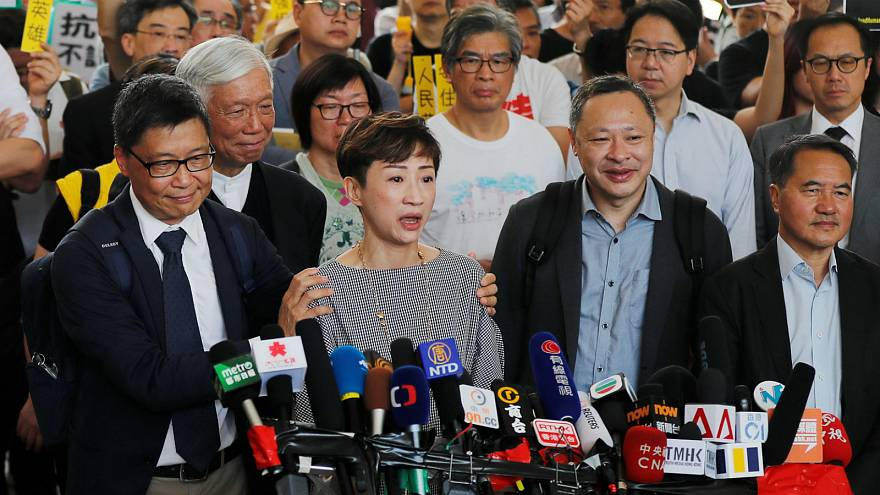 Hong Kong Occupy leaders found guilty for role in mass rallies