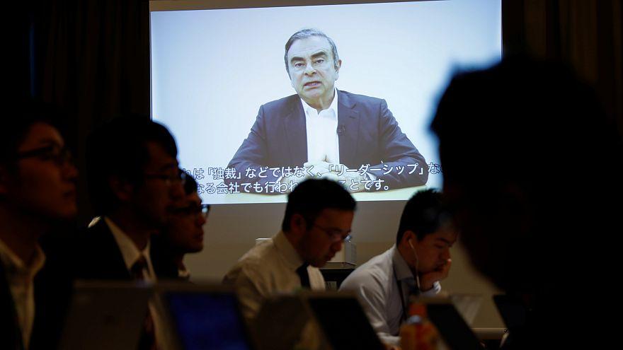 """Nissan, Carlos Ghosn in video dal carcere: """"sono vittima di cospirazione"""""""