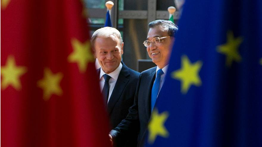 What does the EU trade with China? In charts