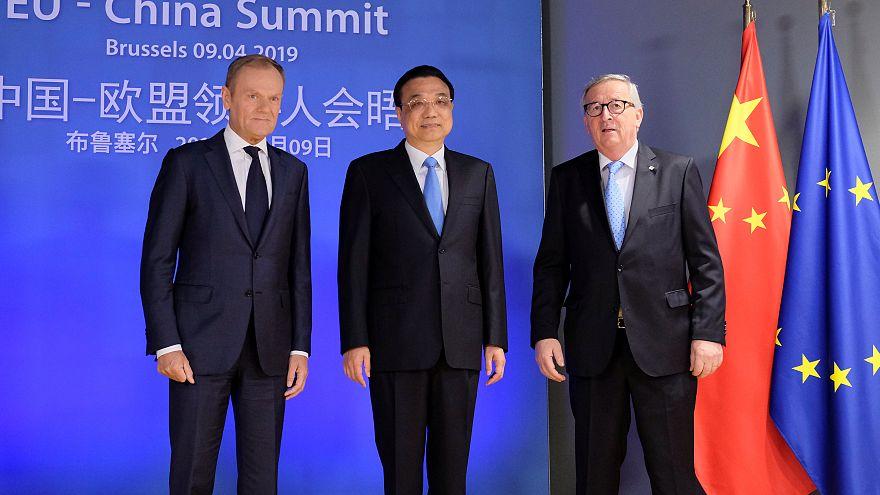 Cimeira da UE e China sem consenso