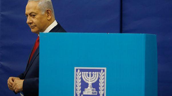 Benjamin Netanyahu, à Jérusalem ce mardi 09/04/2019