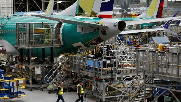 Boeing üretim merkezi / Renton, Washington