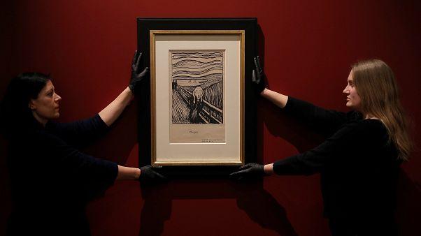 A sikoly alkotójának kevésbé ismert műveit állítják ki Londonban