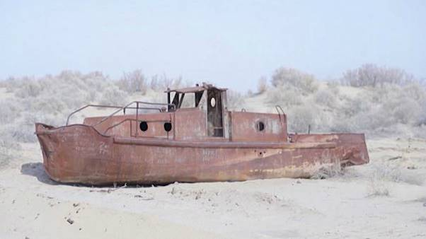 ۹۰ درصد دریاچه آرال ازبکستان خشک شده است