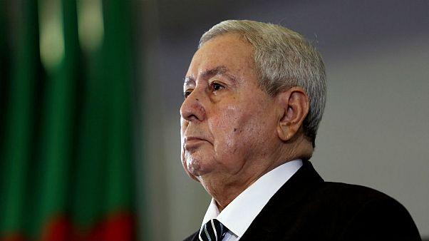 عبدالقادر بنصالح، رئیسجمهوری موقت الجزایر