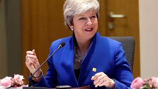 Η Τερέζα Μέι στην έκτακτη Σύνοδο κορυφής για το Brexit
