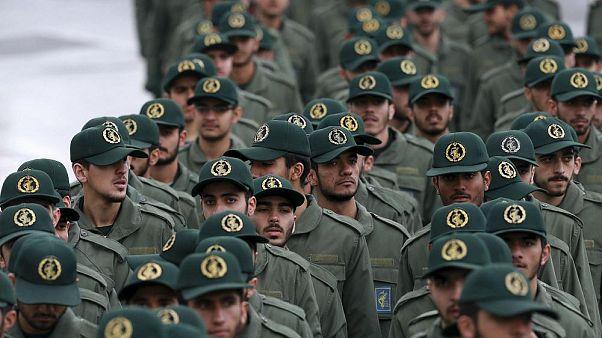 İran Devrim Muhafızları Ordusu'na bağlı askerler
