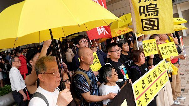 """Anführer der """"Regenschirm-Revolution"""" in Hongkong verurteilt"""