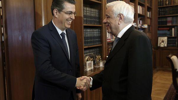 Συνάντηση Παυλόπουλου με τον νέο πρόεδρο του ΕΔΔΑ, Λ. Σισιλιάνο