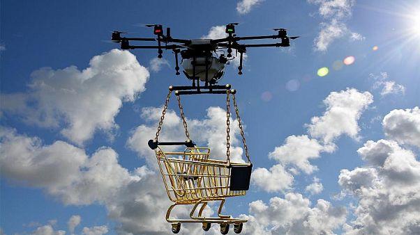 Google lanza el primer servicio de entrega a domicilio con drones