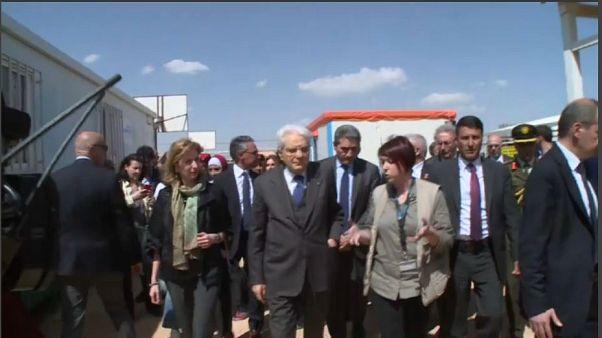 Mattarella in visita ufficiale in Giordania