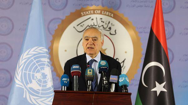 غسان سلامة مبعوث الأمم المتحدة الخاص إلى ليبيا