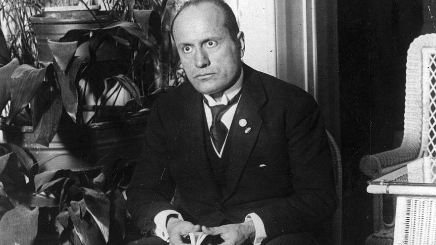 Benito Mussolini in 1922