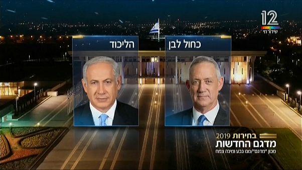 Israele: i primi exit poll danno favorito Netanyahu, ma un altro sondaggio premia Gantz