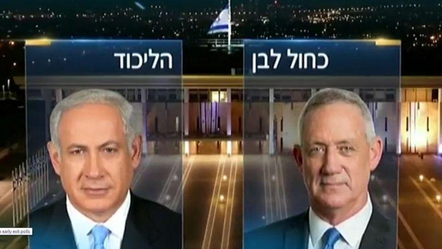 İsrail seçimleri: Likud Partisi ile Mavi-Beyaz İttifakı başa baş gidiyor