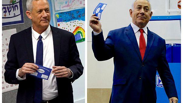 Ισραήλ - εκλογές: Δηλώνουν νικητές και ο Νετανιάχου και ο Γκαντζ