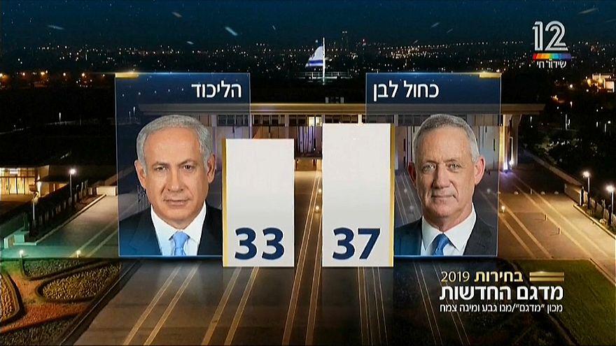 Patt in Israel: Gantz und Netanjahu erklären sich zu Siegern