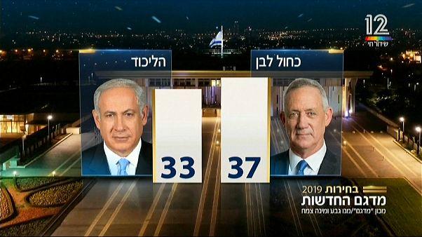 انتخابات اسرائیل: نتانیاهو و گانتس ادعای پیروزی کردند