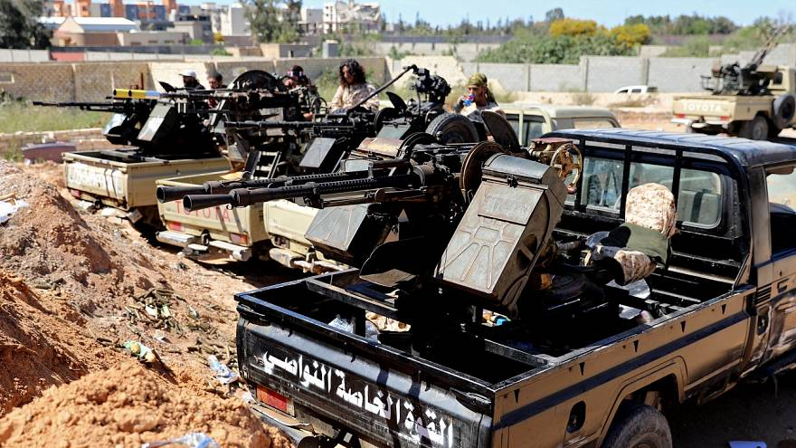 Guerra abierta en Libia