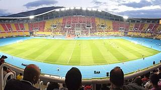 View from the south stand at the former Philip II Arena