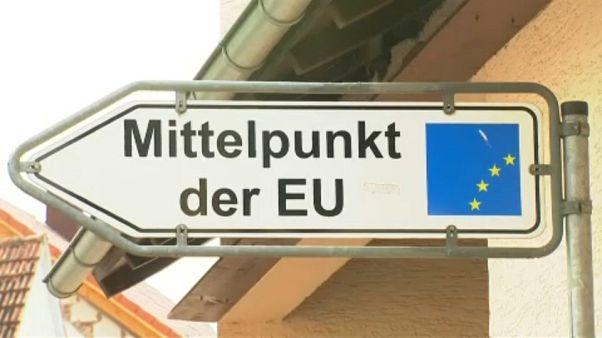 Новый географический центр Евросоюза