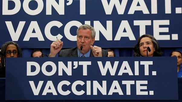 Egészségügyi szükségállapotot rendeltek el New Yorkban