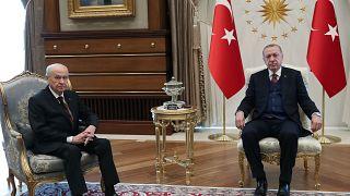 Cumhurbaşkanı Recep Tayyip Erdoğan/ MHP lideri Devlet Bahçeli