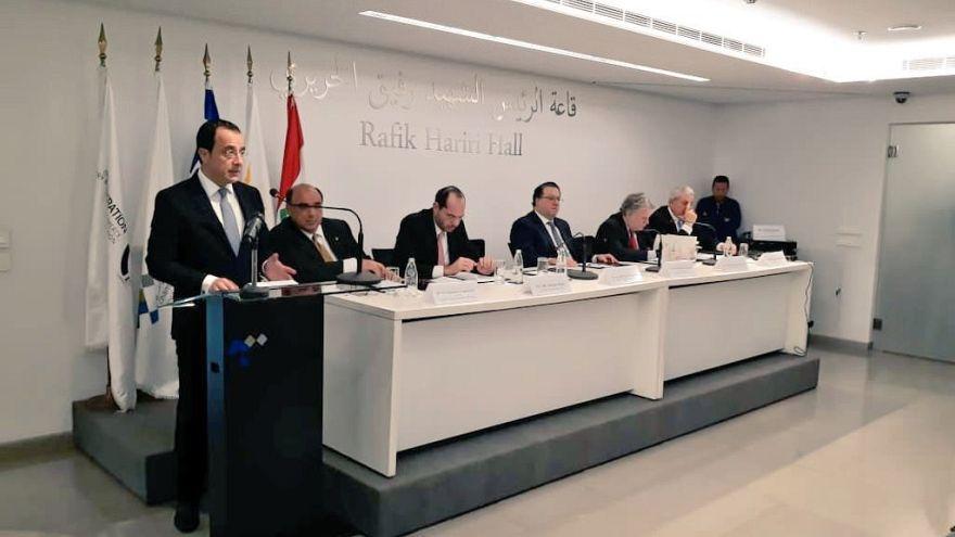 Πρώτη επίσημη τριμερής Υπουργική Κύπρου, Λιβάνου, Ελλάδας