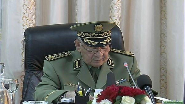 رئيس الأركان الجزائري الفريق قايد صالح