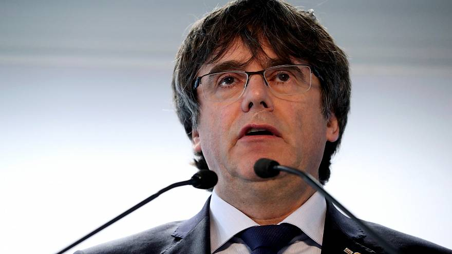 Spanish electoral board bans Puigdemont and advisers from running in European elections