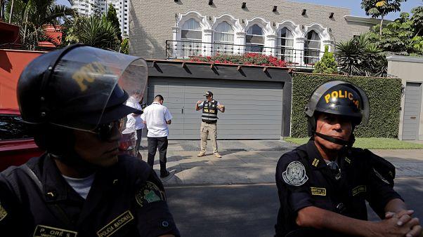 Detenido el expresidente de Perú