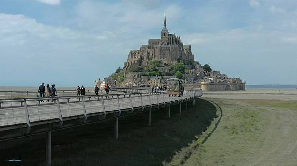 Mont Saint Michel reclaims island-like character after years of major construction