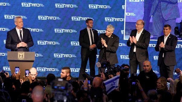 منافس نتنياهو الرئيسي يقر بالهزيمة في الانتخابات