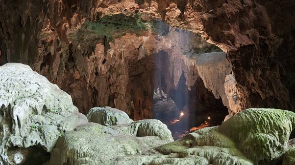 Callao Cave on Luzon Island, in the Philippine