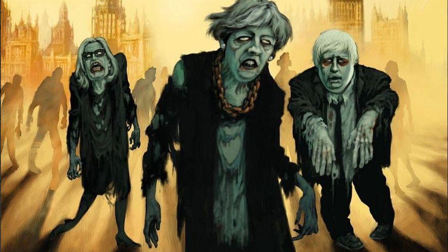 EU-Austritt bis 31.10.: Netz spottet über Halloween-Brexit