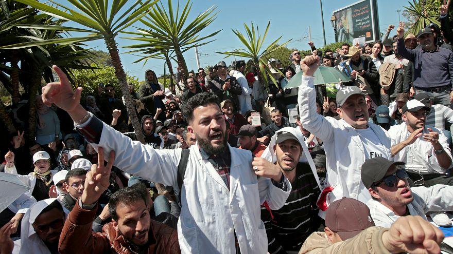 من مظاهرات المعلمين