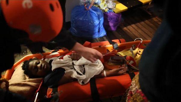 62 migrants sauvés par l'ONG Sea-Eye toujours bloqués en mer