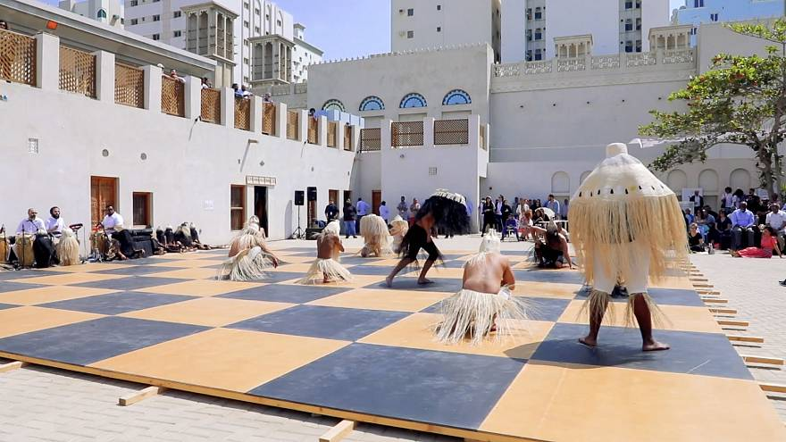 Artists tackle social issues at Sharjah Biennial