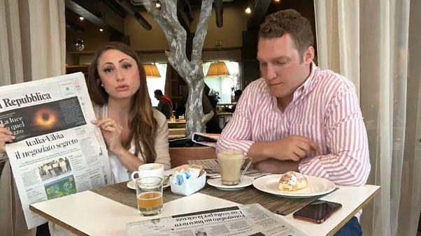Италия: кофе и газеты