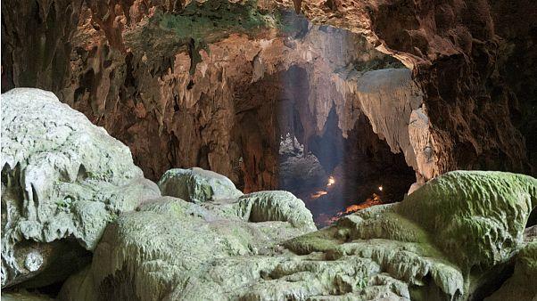غار در فیلیپین